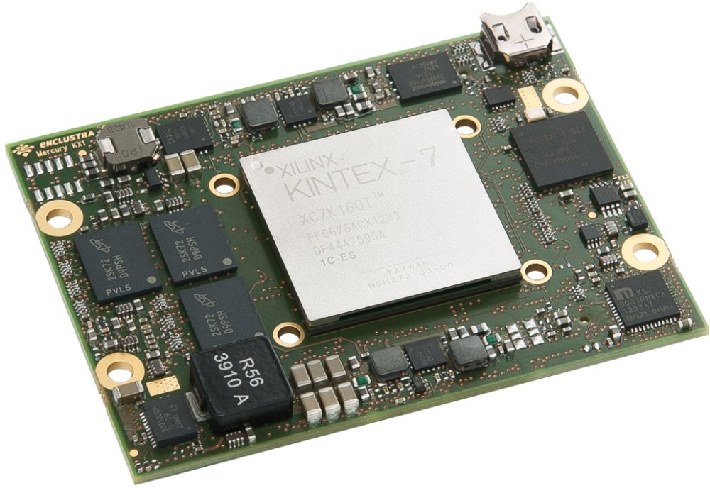 Enclustra FPGA Solutions | Mercury KX1