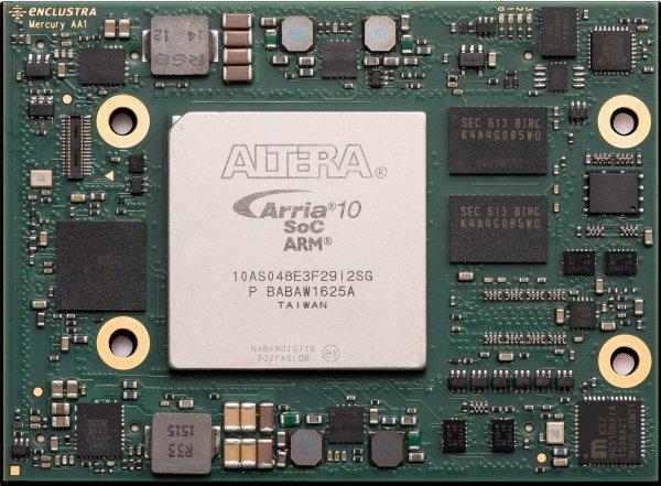 Enclustra FPGA Solutions | Mercury+ AA1