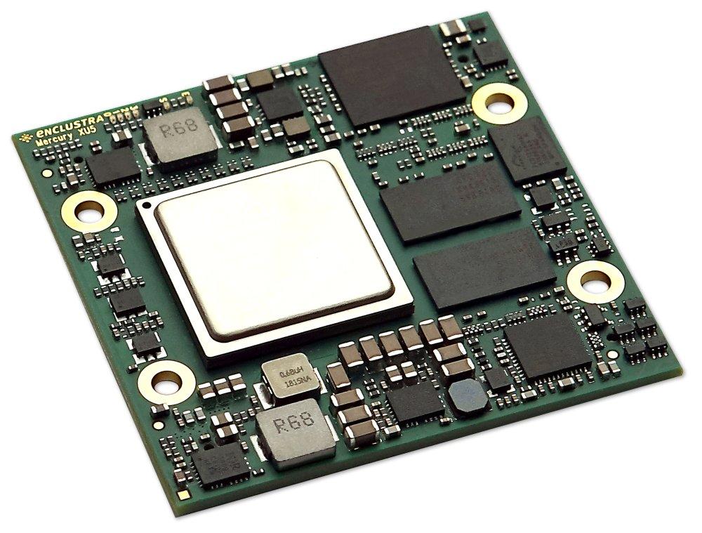 Enclustra FPGA Solutions | Mercury XU5