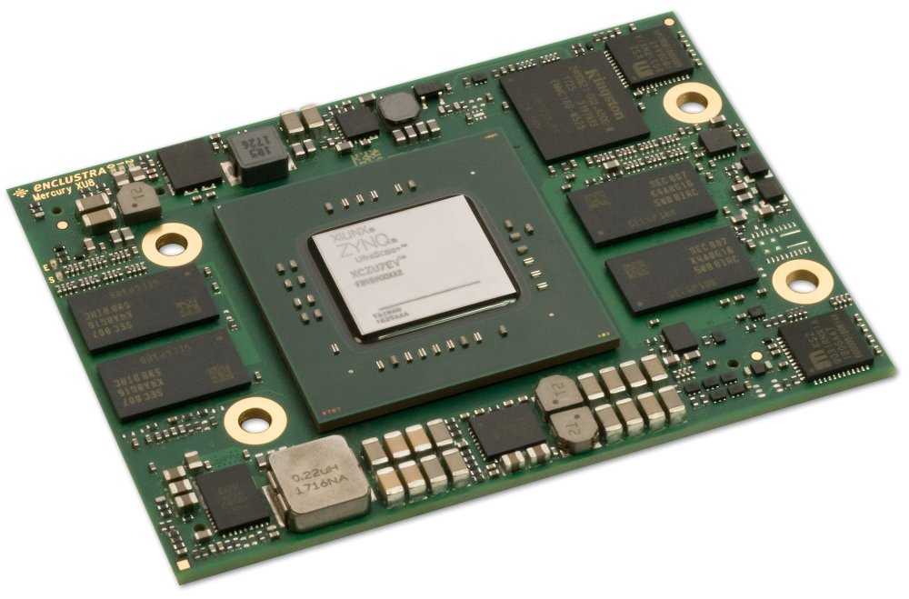 Enclustra FPGA Solutions | Mercury+ XU8