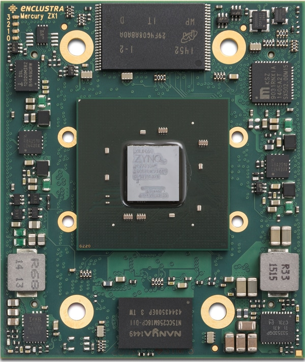 Enclustra FPGA Solutions   Mercury ZX1